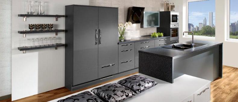 k chen meran tischlerei m bel pichler johann. Black Bedroom Furniture Sets. Home Design Ideas